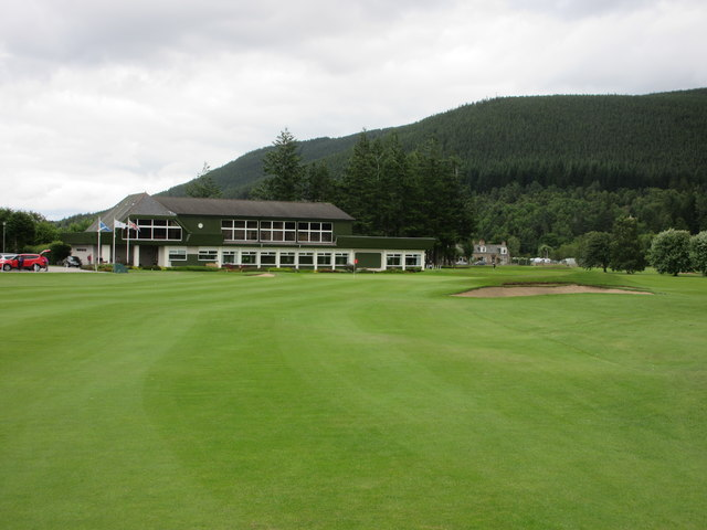 Ballater Golf Course, 18th hole, Hame