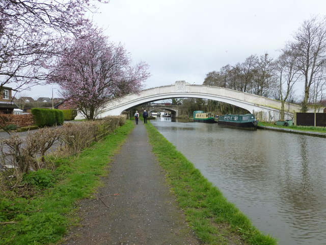 Pipe bridge on the Lancaster Canal