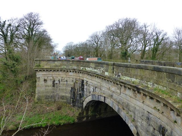 The aqueduct at Garstang