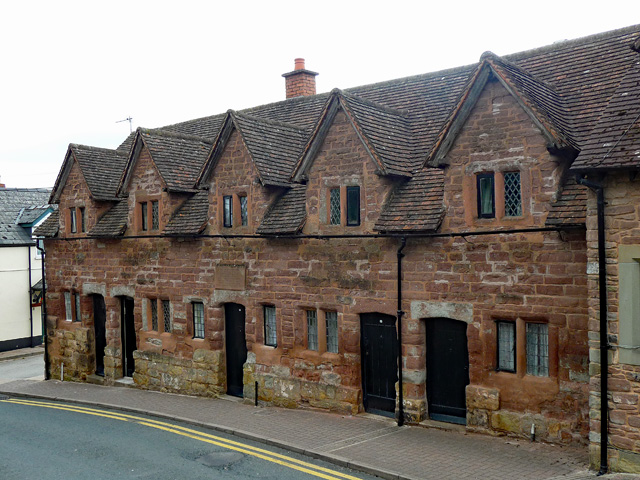 Rudhall Almshouses, Ross-on-Wye