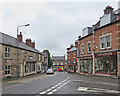 SK3547 : Belper: the corner of High Street and Church Street by John Sutton