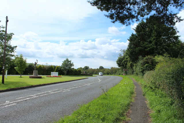 The A780 to the A75