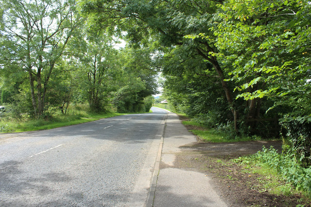 The A780, Dumfries