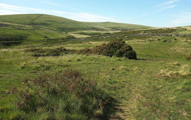 Path west of Stannon Tor