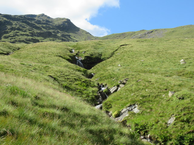 Most productive tributary of Allt Coire Laoigh coming out of Coire an t-Sneachda of Ben Lui