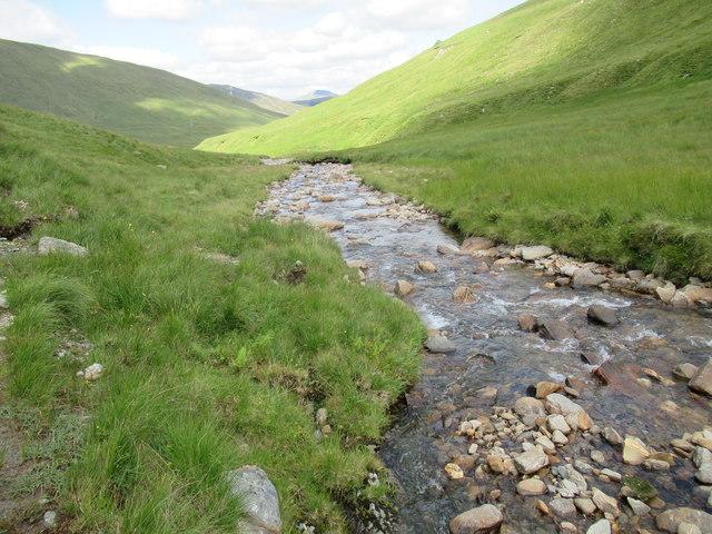 Allt Coire Laoigh below Ben Lui near Tyndrum