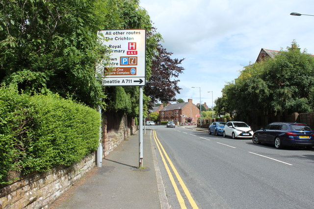Road Sign, Dumfries