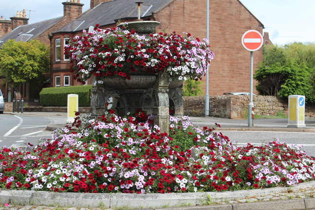 Flower Bed, Dumfries