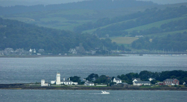 Toward Point and lighthouse from Skelmorlie