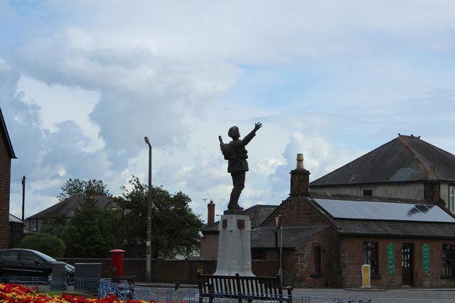War Memorial, Dumfries