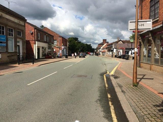Chirk, Church Street