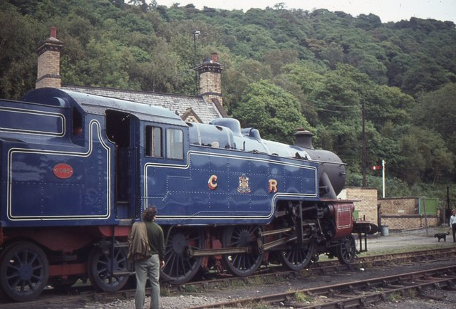 2085 at Haverthwaite Station