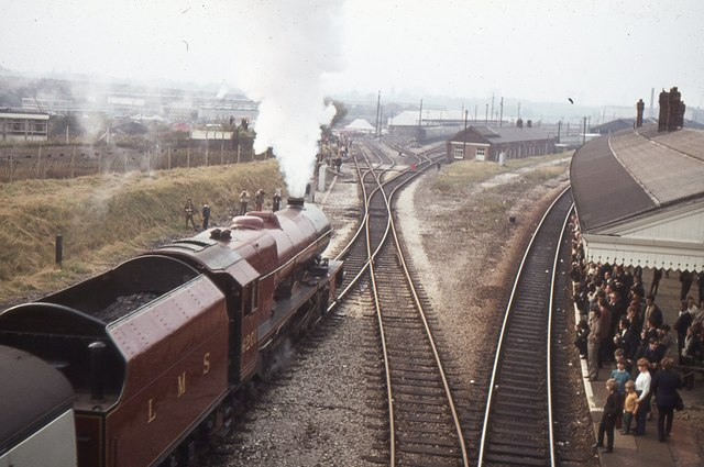 Princess Elizabeth at Tyseley