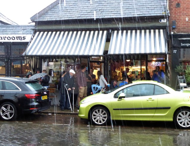 Wet weather in Whitstable