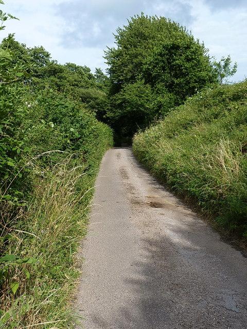 Lane to Boswell Farm