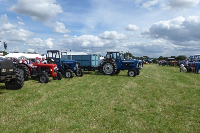 Tockwith Show: Tractor display