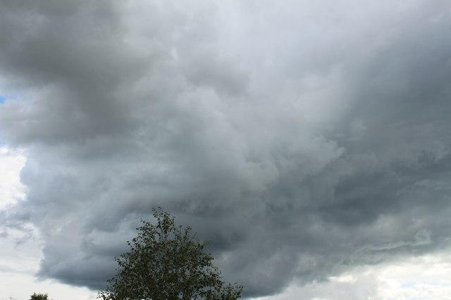 Black Cloud over Dumfries