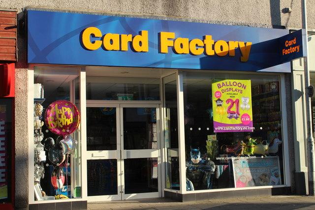 Card Factory, Stranraer