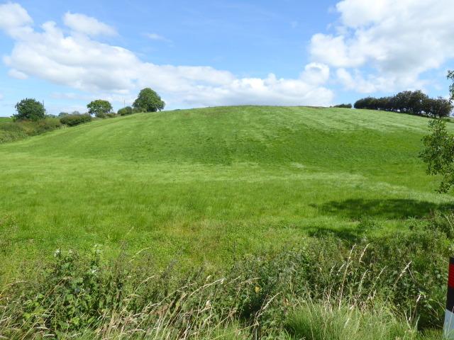 A low hill, Tattyreagh