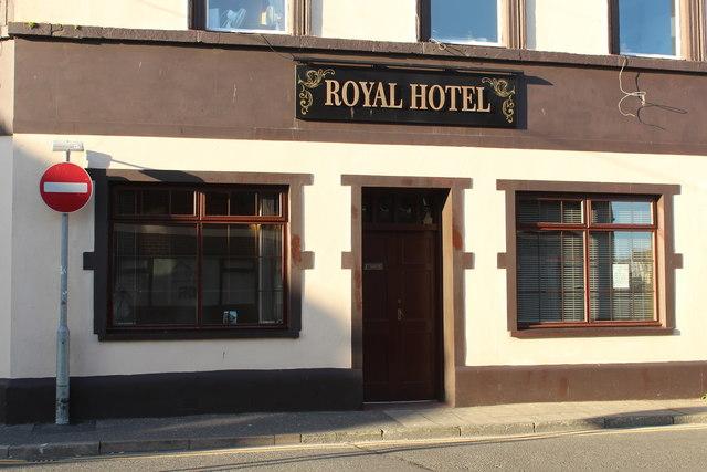 Royal Hotel, Stranraer