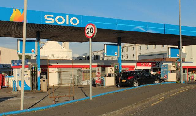 Solo Garage & Spar Shop, Stranraer