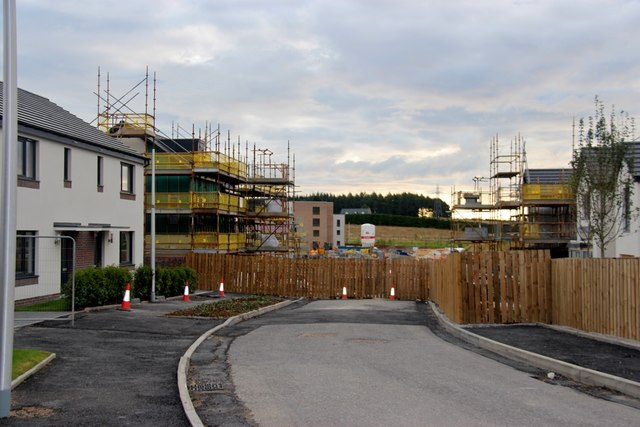 Housing development at Loanhead, Countesswells