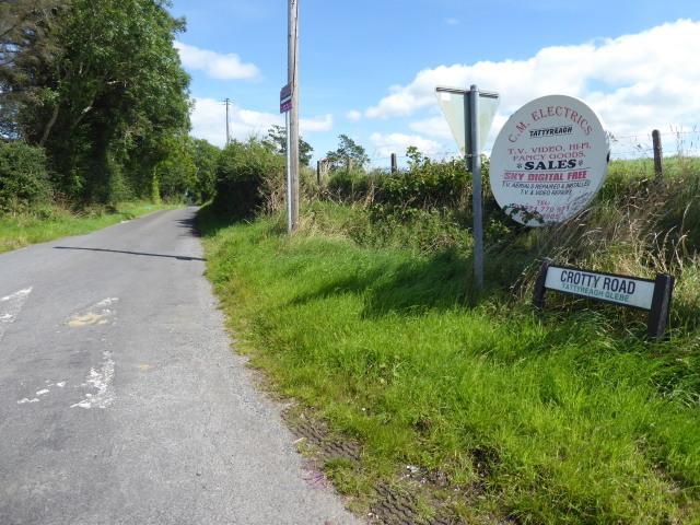Crotty Road, Tattyreagh Glebe