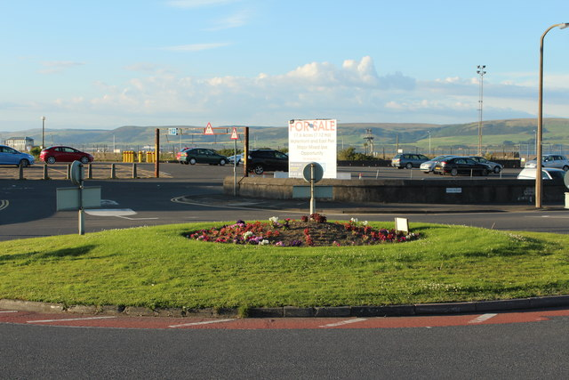 Roundabout at Port Rodie, Stranraer