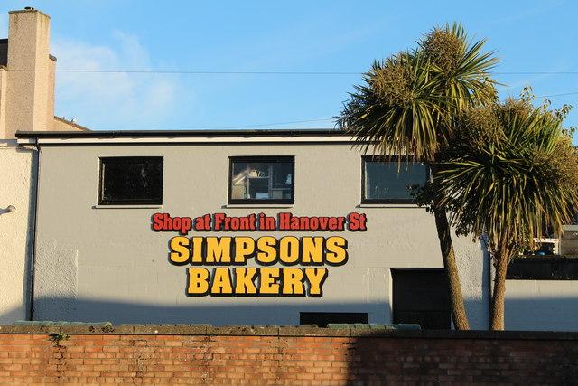 Simpsons Bakery, Stranraer