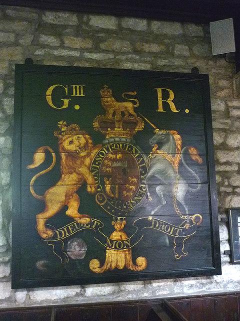 Royal coat of arms, Linton Church