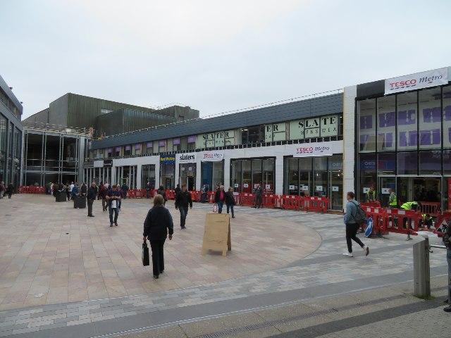 Town centre makeover - Basingstoke