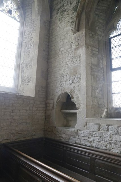 Corner of the South Aisle