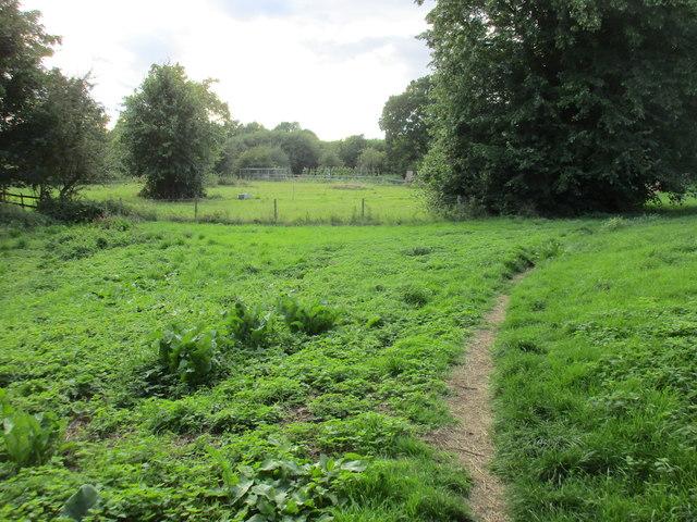Footpath to Charlecote Road