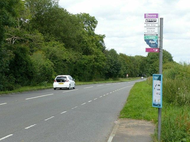 Bartlewood Lodge bus stop