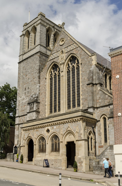 Sacred Heart Roman Catholic church, Exeter