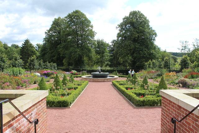 The Queen Elizabeth Garden, Dumfries House