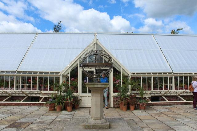 Greenhouse, Queen Elizabeth Garden