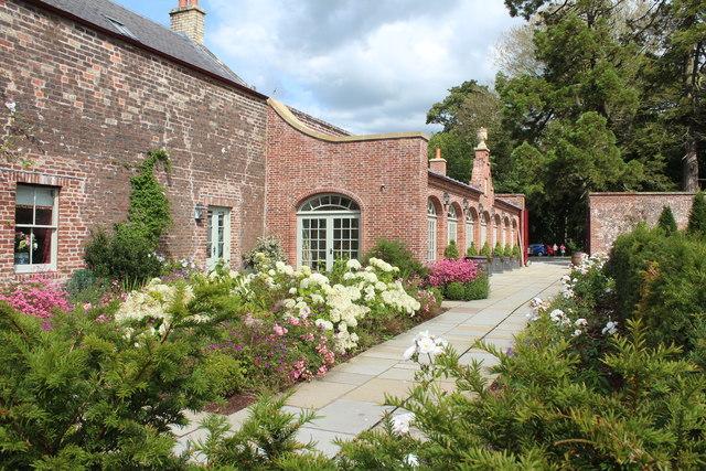 Tearoom, The Queen Elizabeth Garden, Dumfries House