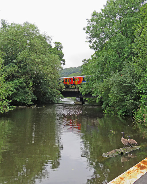 Belper: crossing the Derwent