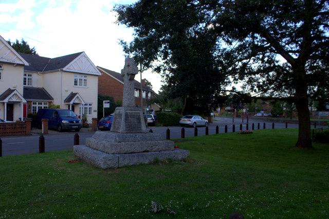 War Memorial, Horton
