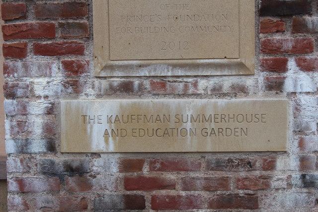 The Kauffman Education Garden