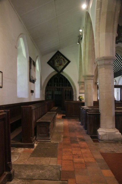 Looking down the North Aisle