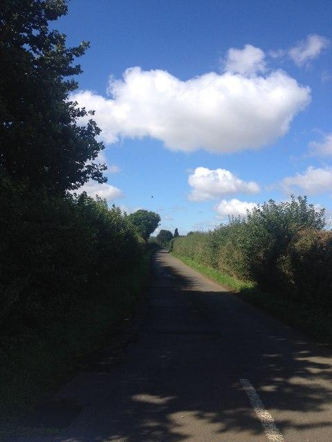Quiet Lane near Loddington