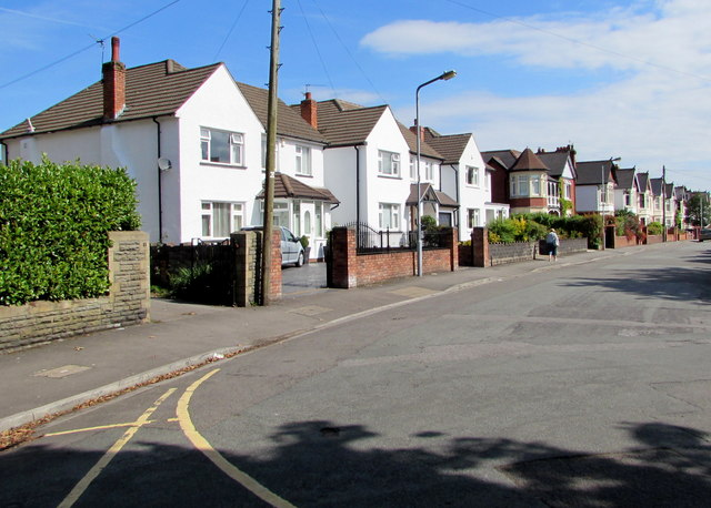 Bishop's Road houses, Whitchurch, Cardiff