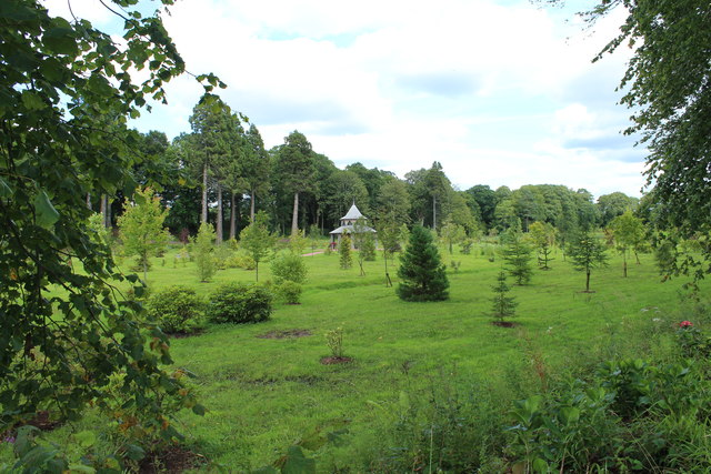 The Maguire Arboretum with Woodland Shelter