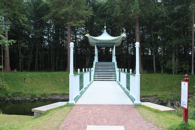 The Chinese Bridge, Dumfries House