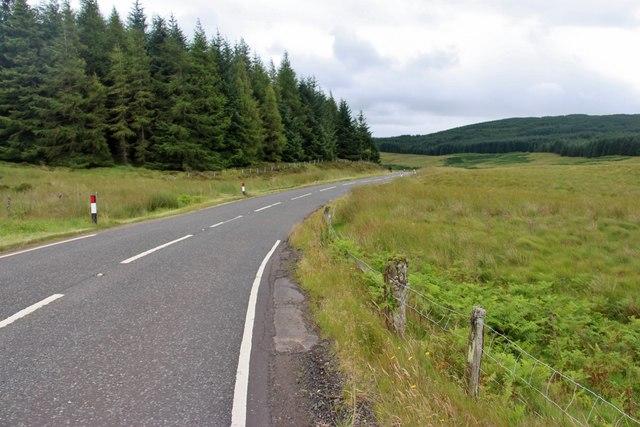 B743 near Dungavel Hill