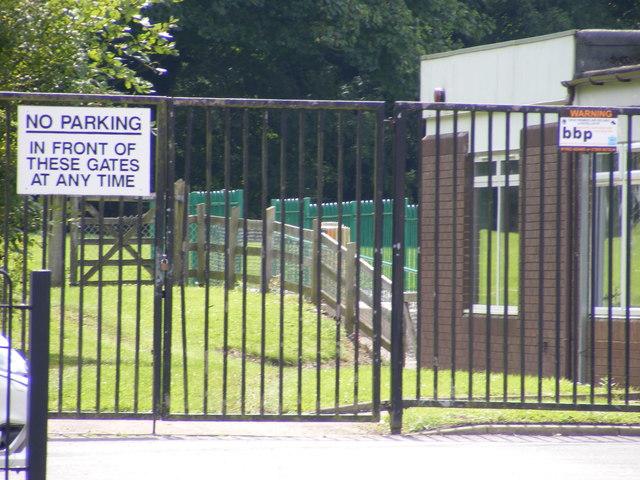 School Field Gate