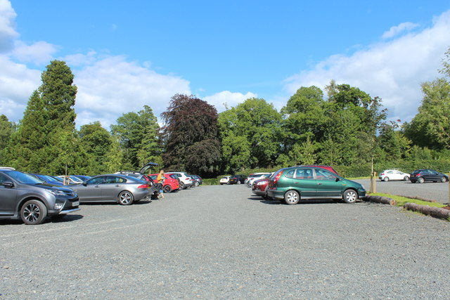 Car Park, Dumfries House