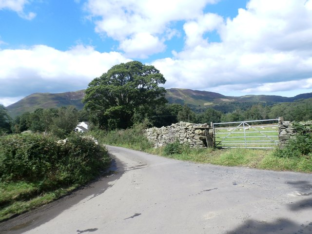 Minor Road Junction near Brackenthwaite